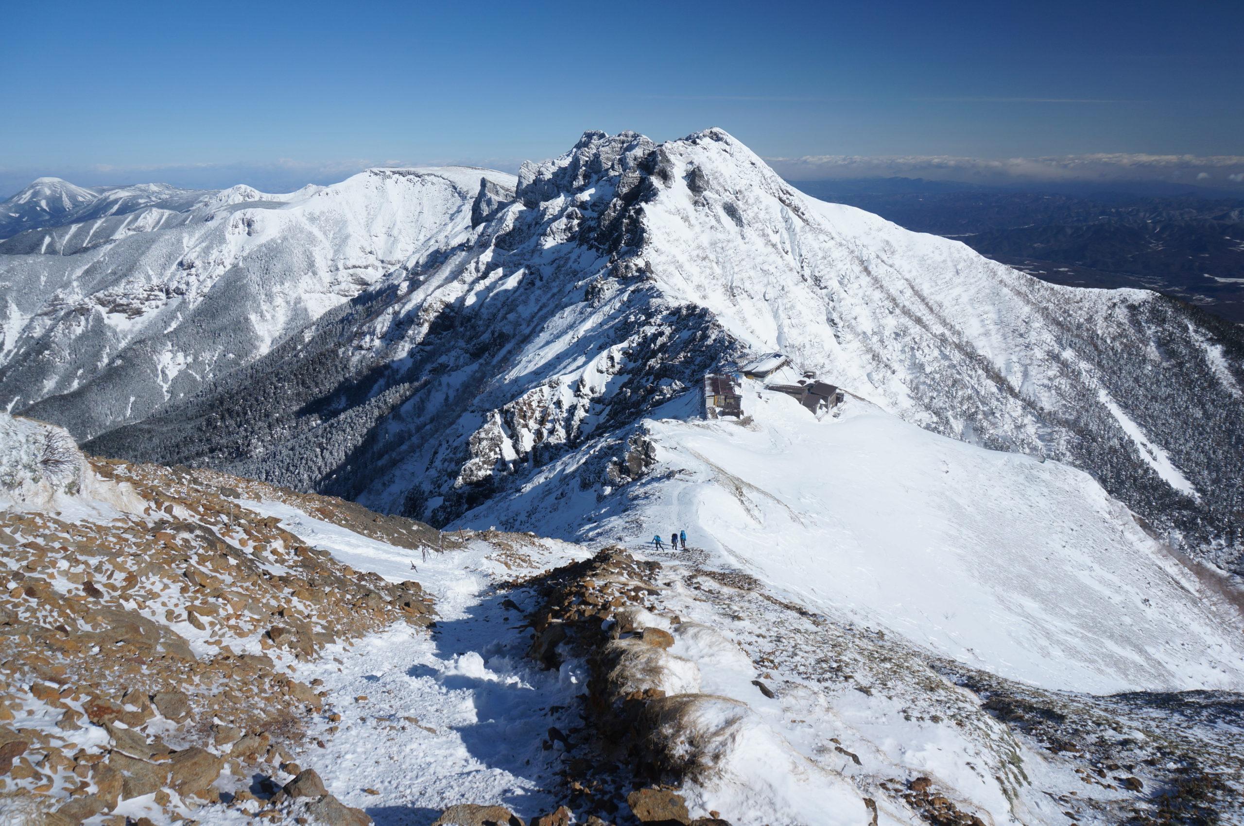 八ヶ岳・赤岳